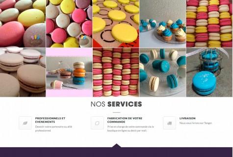 presentations maquette site web